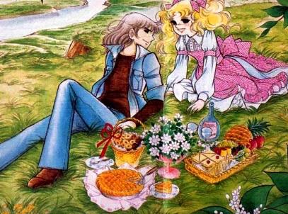 Candy y Terry en el campo by ReiyRuiMMD