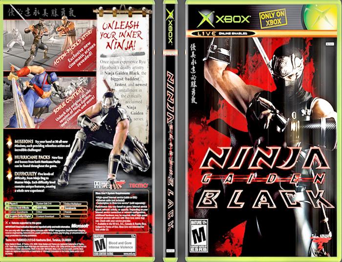 Ninja Gaiden Black Xbox By Fajar526 On Deviantart