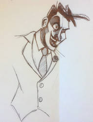 Joker Doodle by gordonholmes