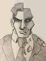 Two Face Doodle