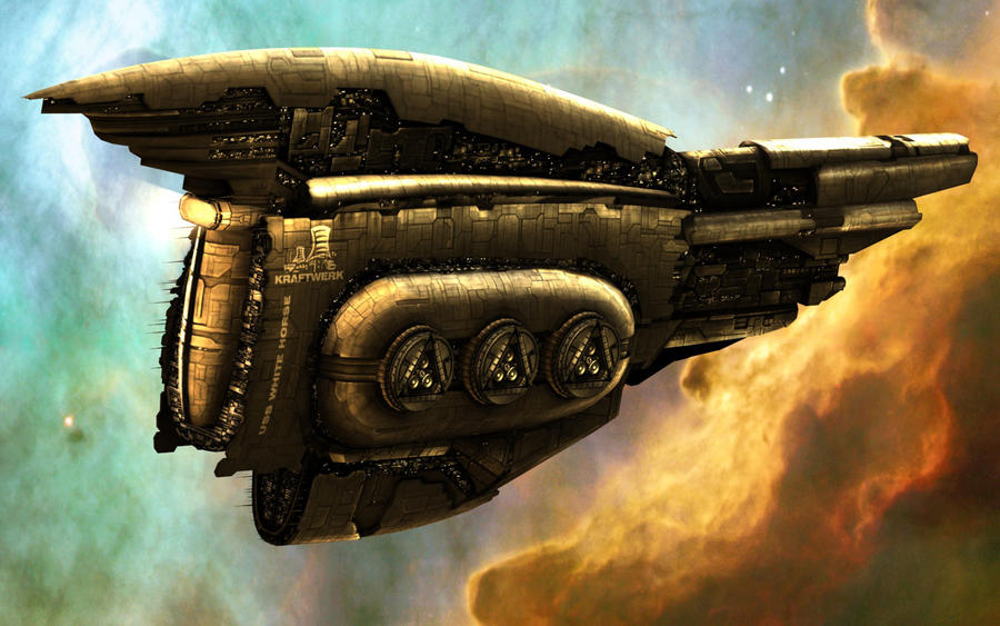 EVE Dreadought with Logo by VanKaiser