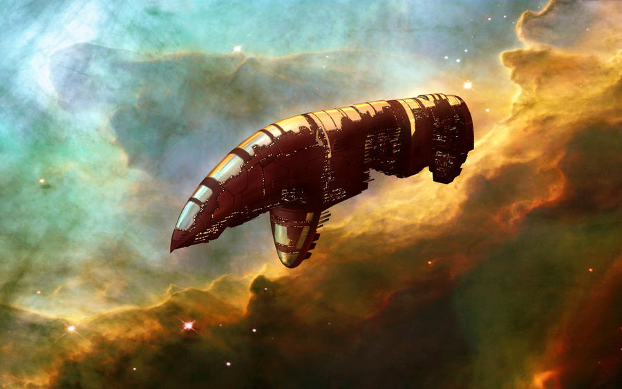 EVE Battleship Spec red by VanKaiser