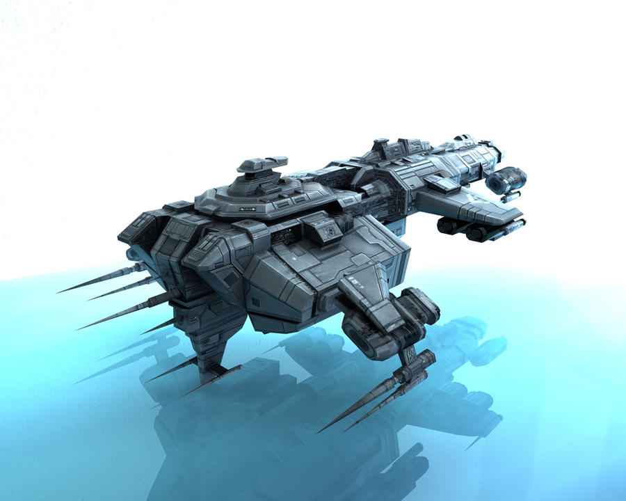 Caldari Tier1 Battelcruiser by VanKaiser