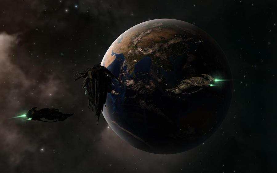 Jove Homeworld Concept by VanKaiser