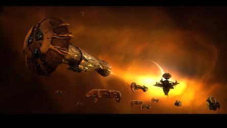 TITAN NEBULA by VanKaiser