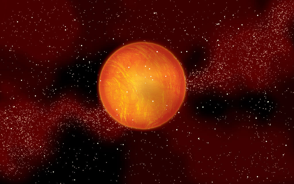 Orange planet by lille-cp on deviantART
