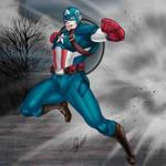 Captain America by Bilcassonato