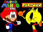 Super Mario and PAC-MAN: Crossover