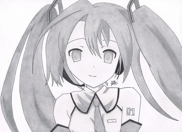 Hatsune Miku by jetg10