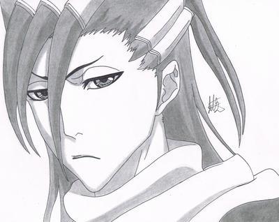 Byakuya Kuchiki by jetg10