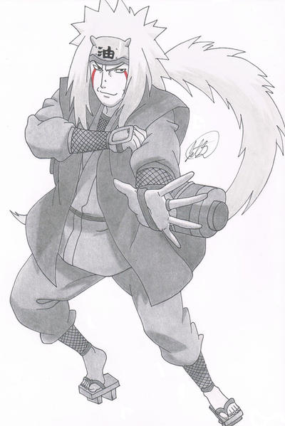 Jiraiya by jetg10