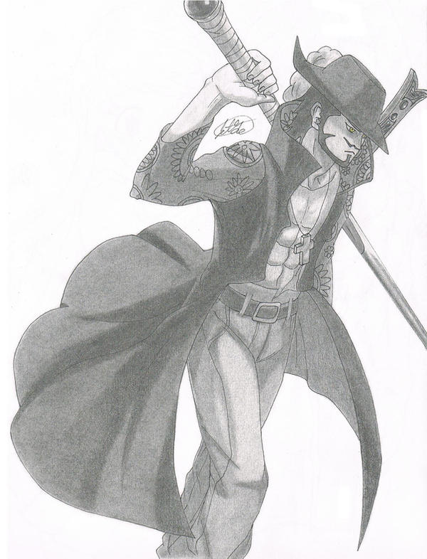 Dracule 'Hawk Eyes' Mihawk by jetg10