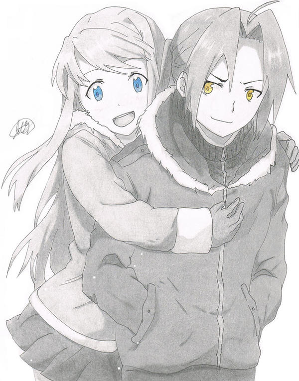 Edward and Winry by jetg10