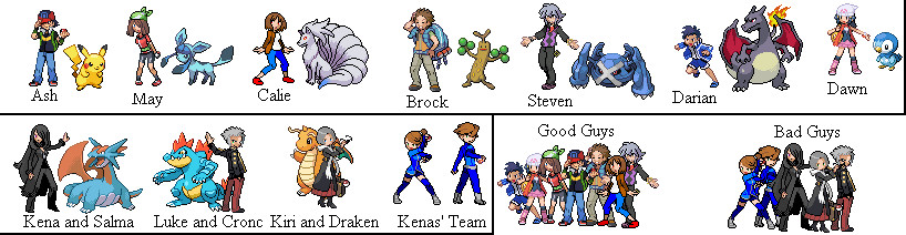 how to create a pokemon team
