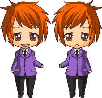 Chibi Request-Hikaru and Kaoru by Maria65 on DeviantArt  Chibi Request-H...