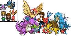 PWO Team: Kanto-Before Third Gym by Maria65