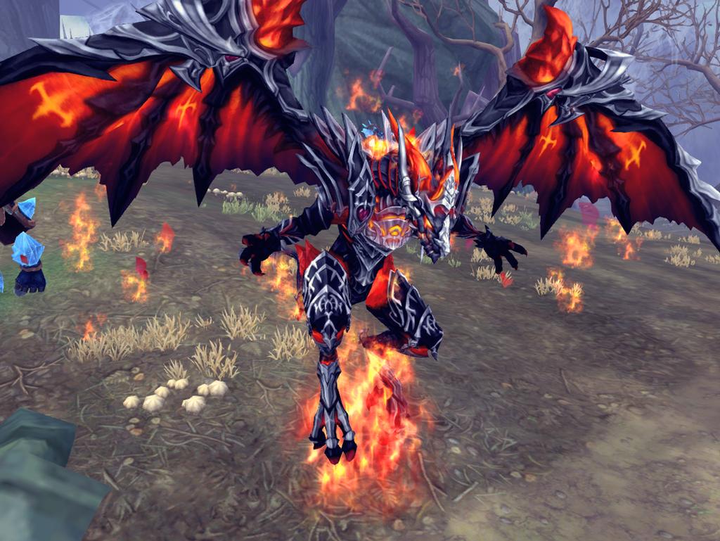 alucard dragon form evolution by maria65 on deviantart