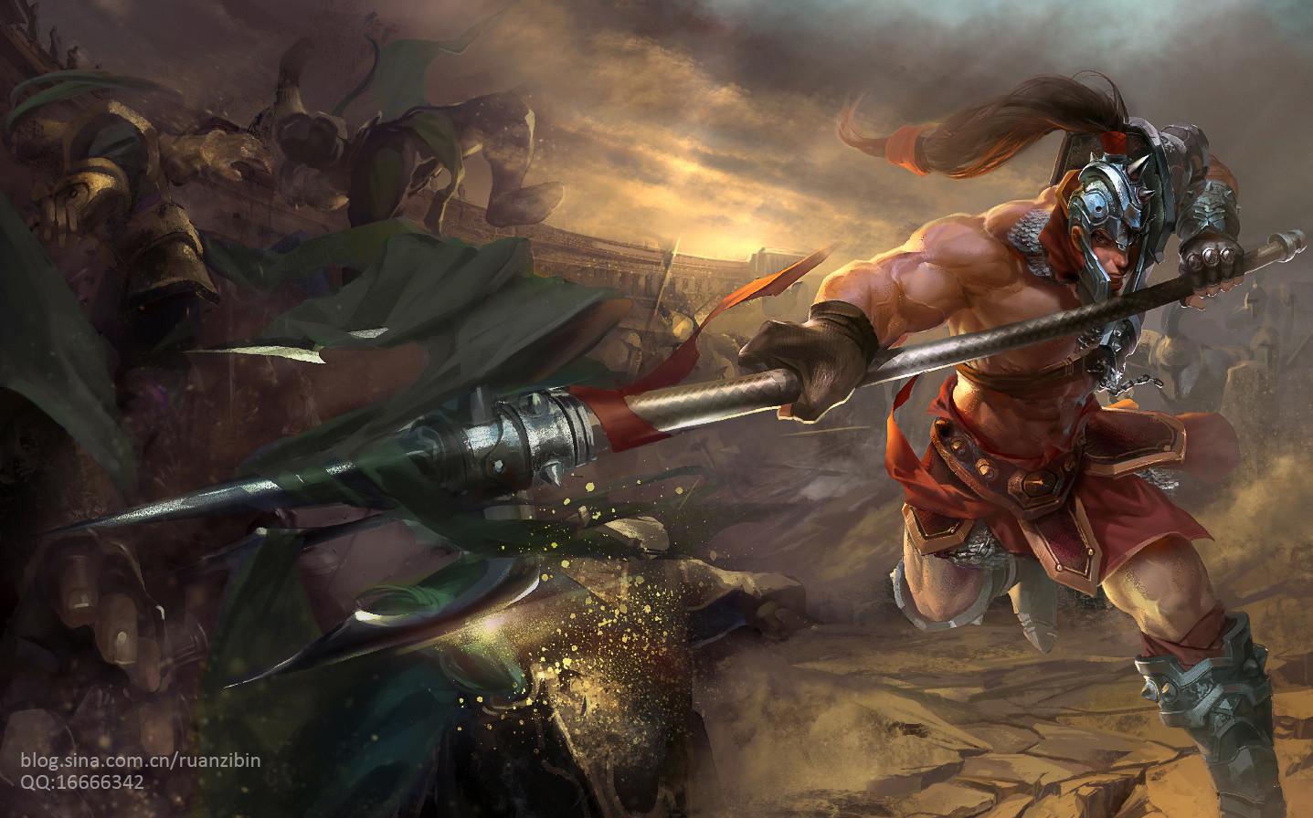 league of legends  Xin Zhao by RobinRuan