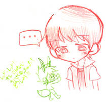 Green became smaller? XD by ttwldnjs