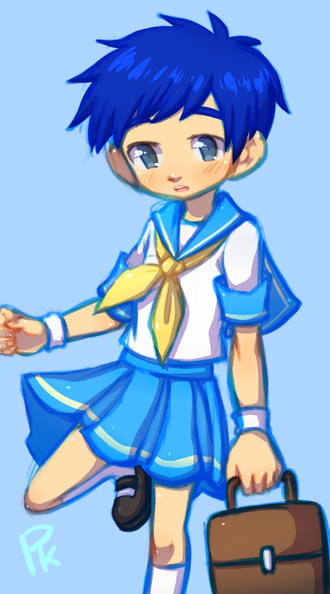 Sailor uniform Jen by ttwldnjs