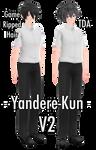 [YanSim x MMD] Yandere-Kun (+DL!)