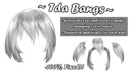 [MMD] Tda Default Bangs (+DL!)