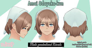 [YS Hair Edit x YS Male Rivals x MMD] Amai-kun