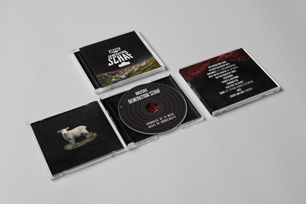 Die Generation Schaf I - CD Cover Art by AdrianFahrbach