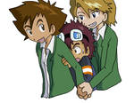 Digimon: Threesome Lovechild