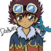 Daisuke by Fei, colored by me by Shigerugal