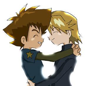 Digimon: Yamachi - Shining Hug