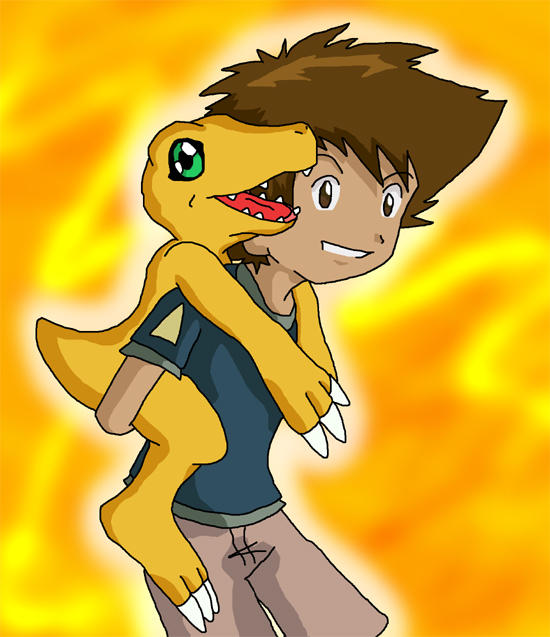 Digimon: mon and Tai by Shigerugal