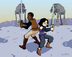 Commission: Together Jedi