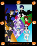 Halloween Usaka Faces