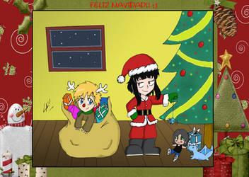 Navidad a lo Faces xD by kuki4982
