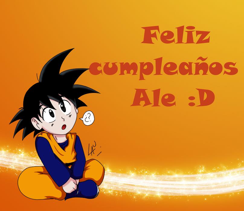 Feliz cumple Ale :D by kuki4982