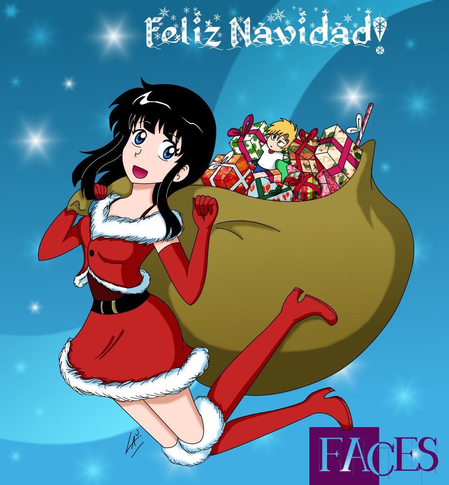 Navidad Faces 2012 by kuki4982