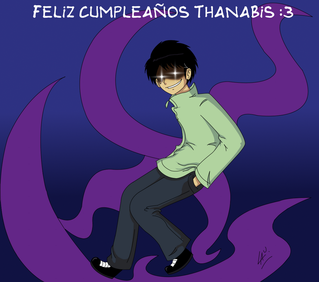 Feliz cumple Thana chan :D by kuki4982