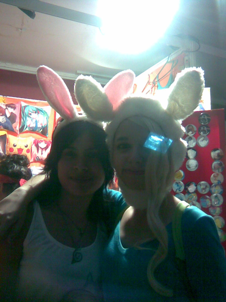 me and Fionna :D xD by kuki4982
