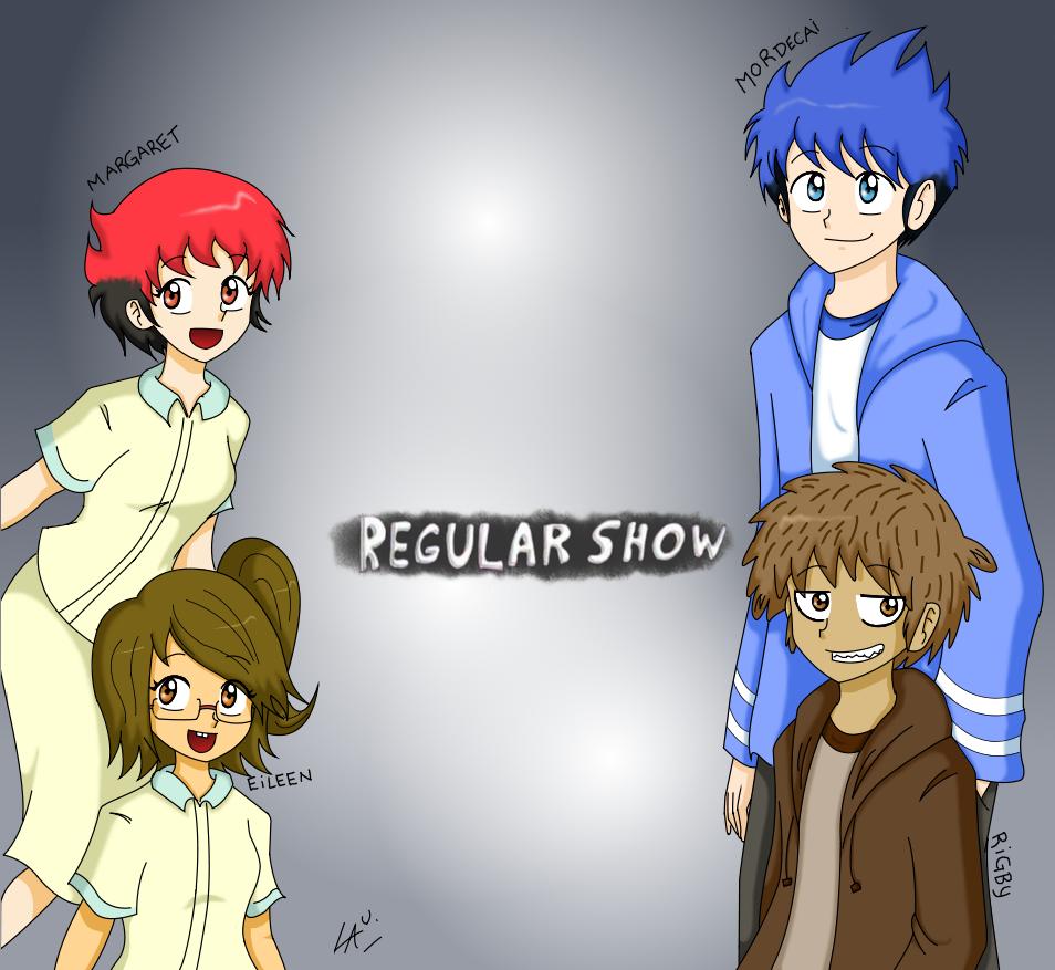 Regular Show Humanizado by kuki4982