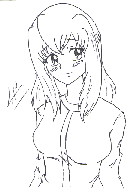 Lily Spica sketch xP by kuki4982