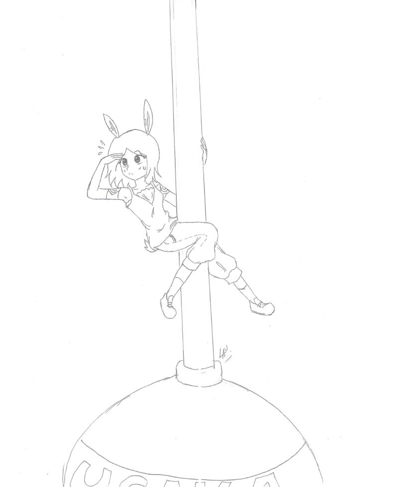 sketch de publicidad nunca terminada by kuki4982