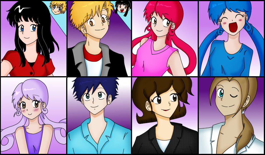 Some Faces charas :D by kuki4982