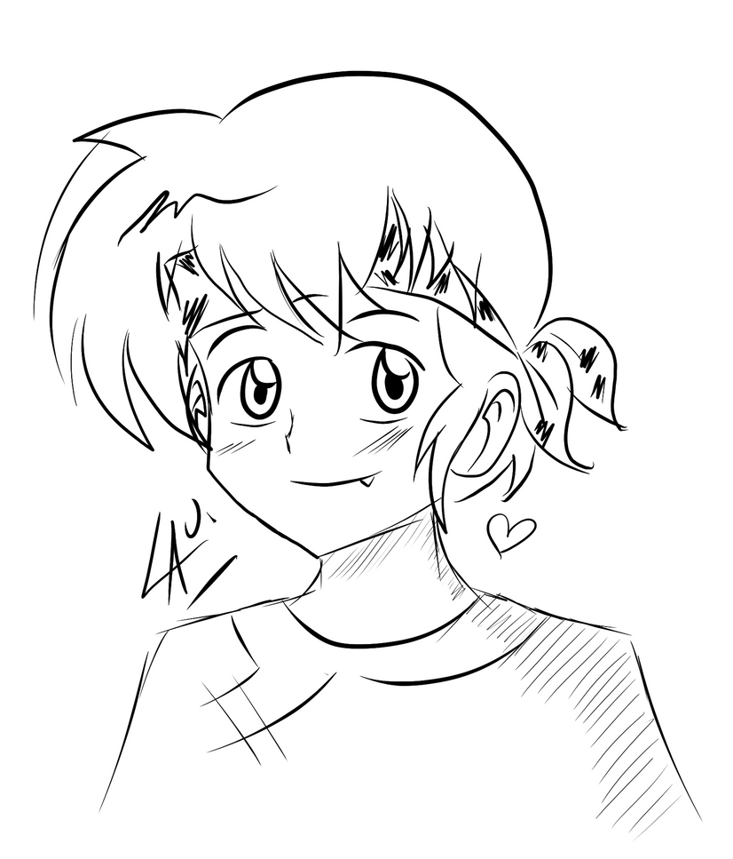 ranma 1 2 coloring pages | Mi Familia Art Coloring Pages
