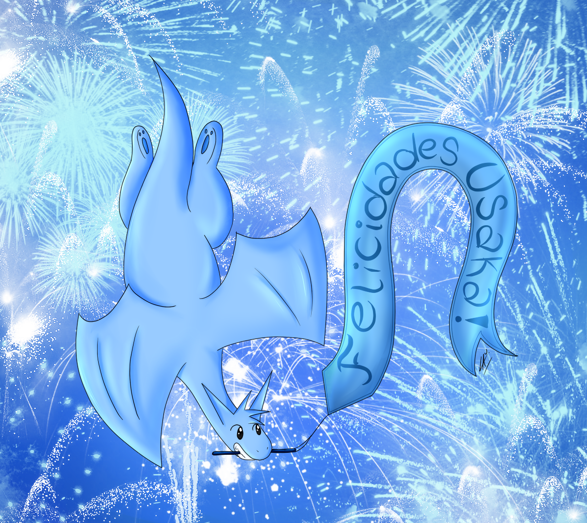 Feliz aniversario Familia Usaka by kuki4982