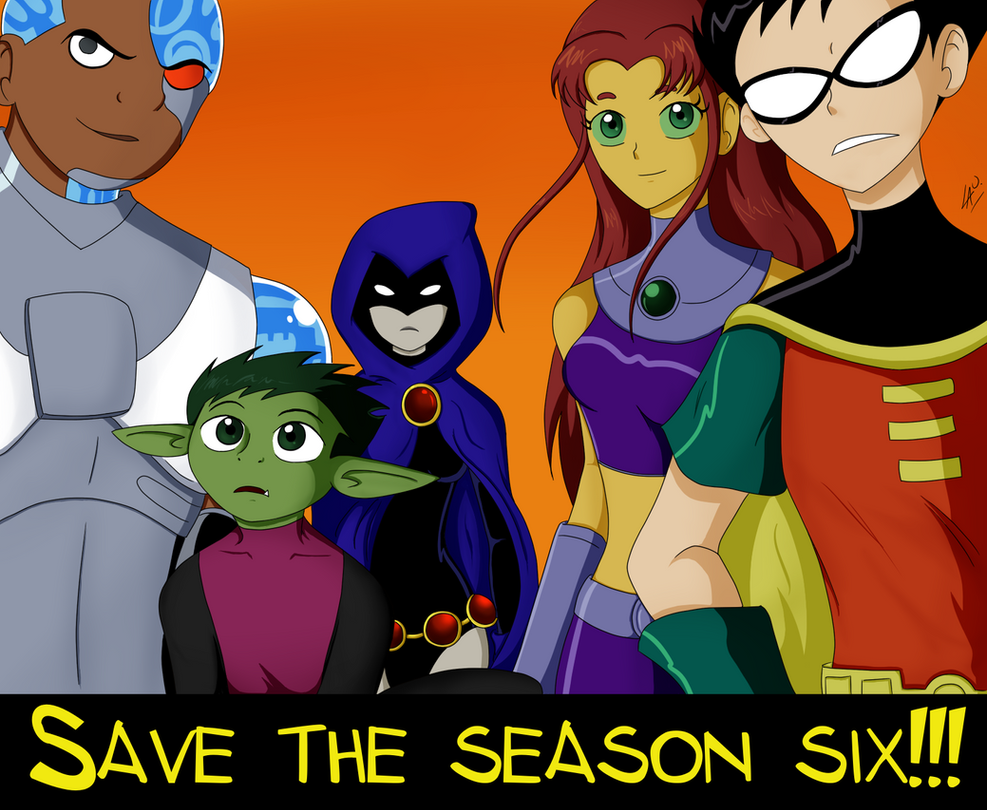 Save the season 6 by kuki4982