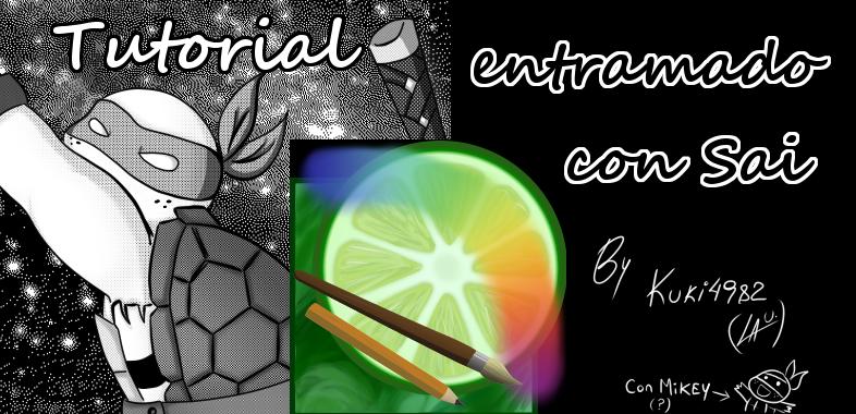 Tutorial: como entramar con Sai (spanish only) by kuki4982