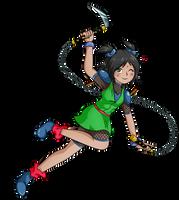 Actividad Usaka: Dia del gamer Kuki as Waya-hime by kuki4982