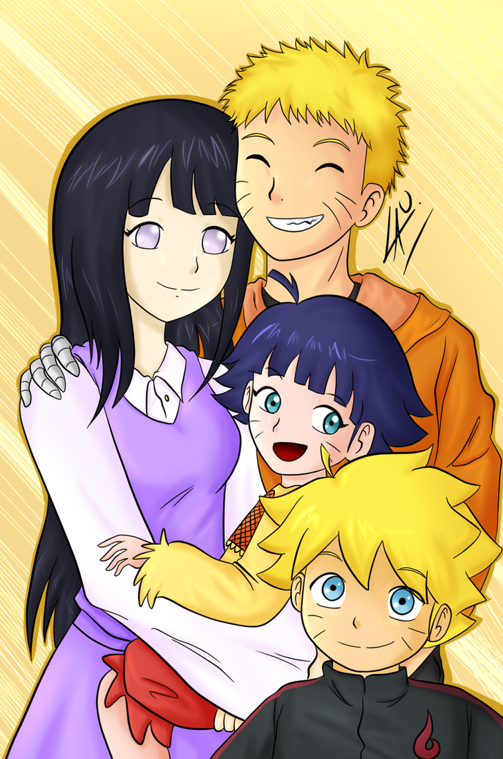 Uzumaki family by kuki4982