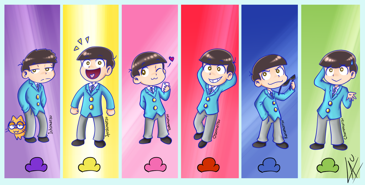 Matsuno Brothers by kuki4982